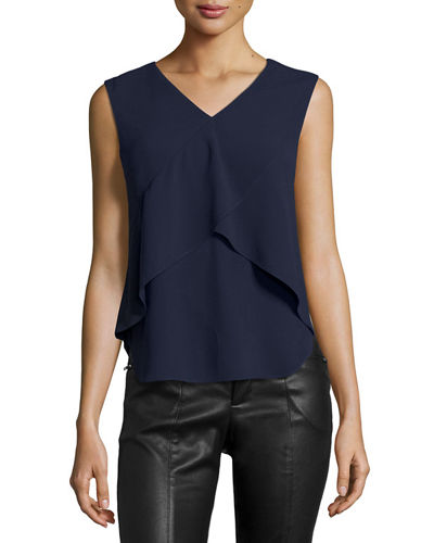 Sherrie Tiered V-Neck Top