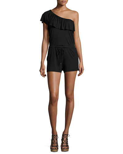 Bella One-Shoulder Romper