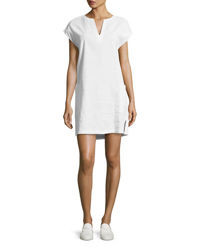 Saturnina Crunch Wash Shift Dress
