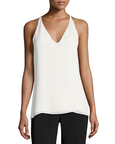 Kalista Sleeveless Silk Blouse