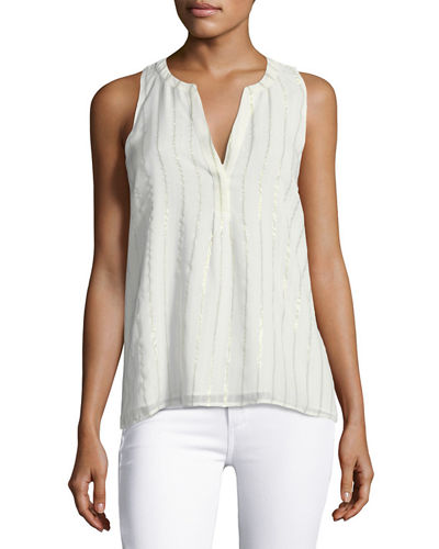 Joie Aruna Silk Sleeveless Top