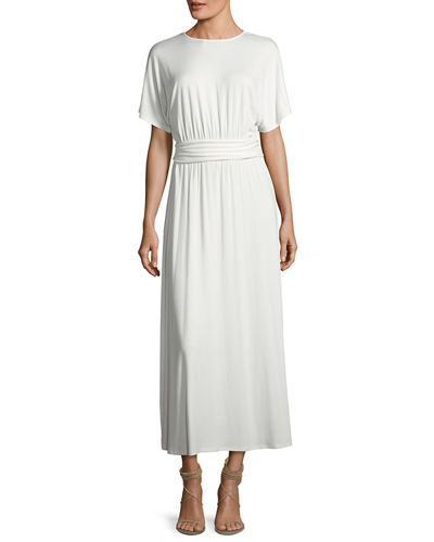 Asta Belted Maxi Dress, Plus Size