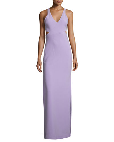 Fullerton Sleeveless Evening Gown