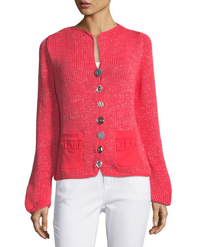 Bay Breeze Multi-Button Cardigan