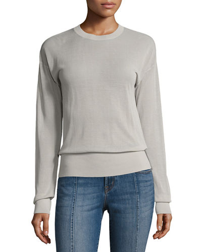 J Brand Oberon Long-Sleeve Pullover Sweater