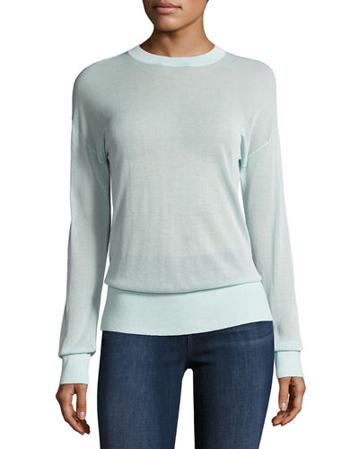 Oberon Long-Sleeve Pullover Sweater