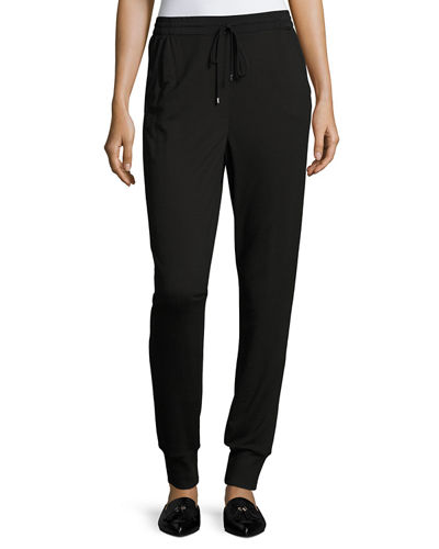 St. John Collection Melange French Terry Pants