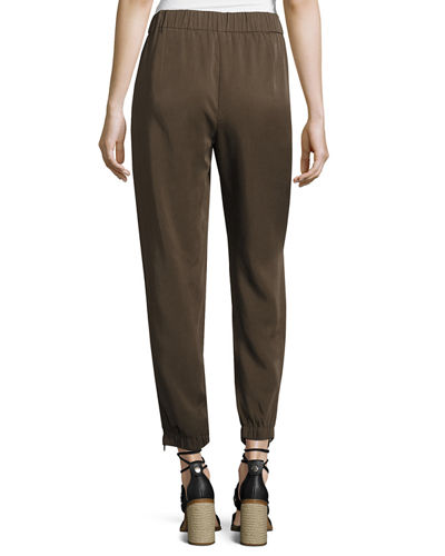 Tencel® Twill Drawstring Pants