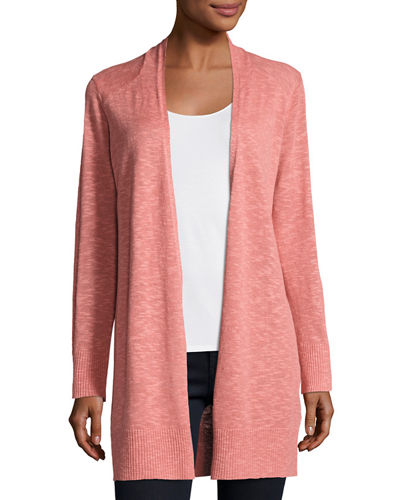 Open Slub Cardigan