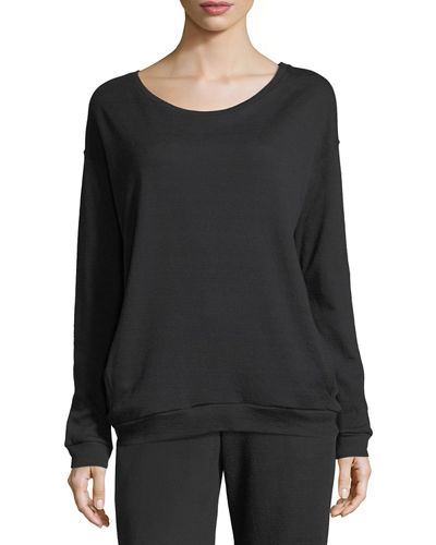 Crewneck Cotton/Cashmere Sweatshirt