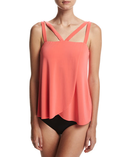 Michelle Solid Tankini Swim Top