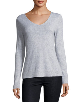 Cashmere V Neck Sweater by Neiman Marcus