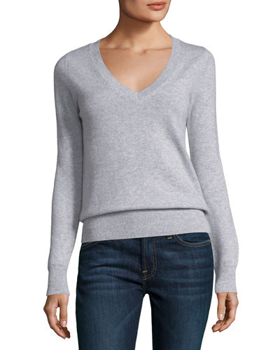 Classic Cashmere V-Neck Sweater
