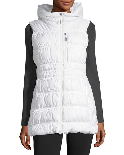 Cryos Hooded Down Puffer Vest