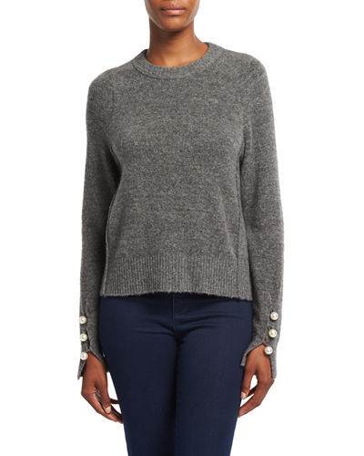3.1 Phillip Lim Crew Neck Pullover Sweater