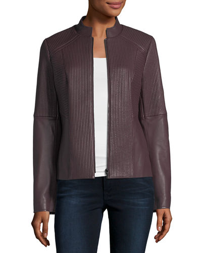 Quilted Leather Moto Jacket | Neiman Marcus : neiman marcus quilted leather jacket - Adamdwight.com
