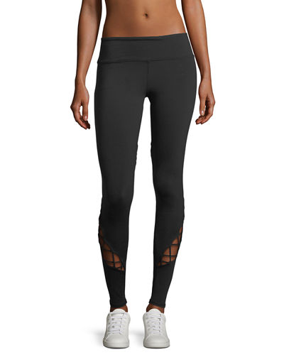 Alo Yoga Entwine Lace-Up Full-Length Leggings