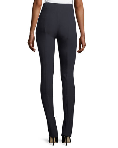 High-Waist Cotton Leggings