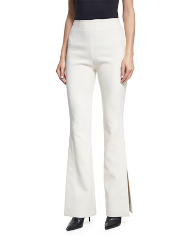 Ray High-Rise Slit-Side Trousers