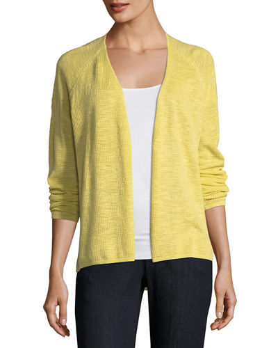 Womens Organic Cotton Cardigan | Neiman Marcus