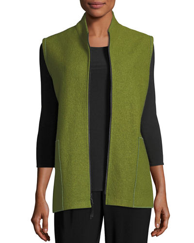 Caroline Rose Paris Plus Zip-Up Vest