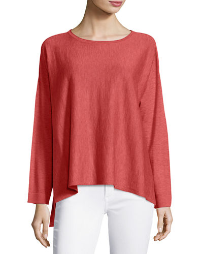 Eileen Fisher Scoop-Neck Easy Top