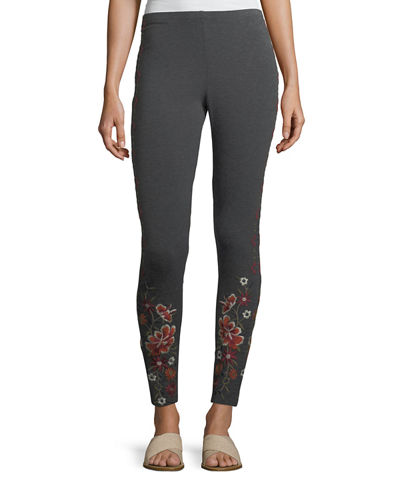 Waleska Embroidered Leggings
