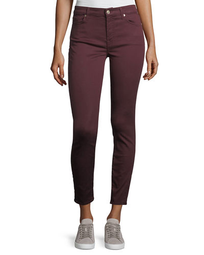 7 For All Mankind The Ankle Skinny Mid-Rise