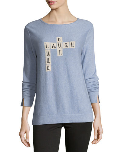 Lisa Todd Laugh Out Loud Cashmere Sweater