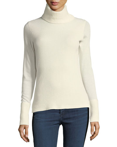 Asa Long-Sleeve Turtleneck Cashmere Sweater