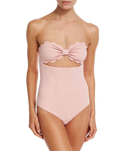 Antibes Scalloped One-Piece Swimsuit