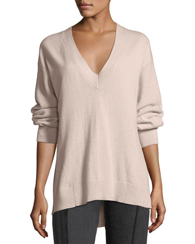 Ace Cashmere V-Neck Sweater