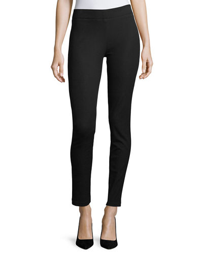 Stretch-Gabardine Leggings