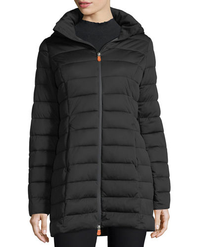 Sold5 Hooded Puffer Coat