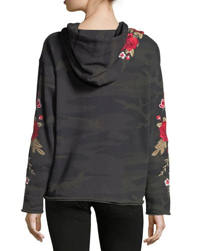 Meri French Terry Hoodie, Plus Size