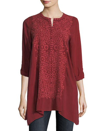 Rona Georgette Tunic, Plus Size