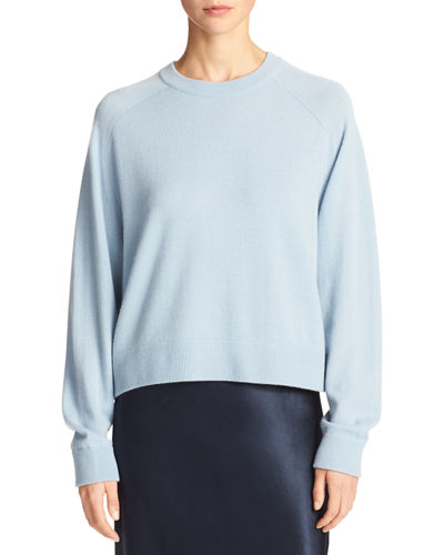 Cropped Boxy Sweater | Neiman Marcus