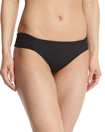 Algiers Shirred-Side Hipster Swim Bottom