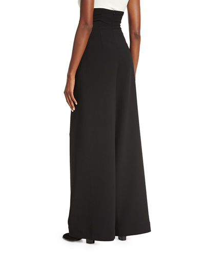 Roy High-Rise Wide-Leg Pants