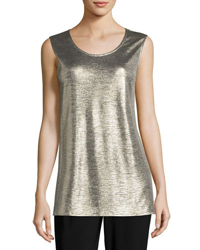 Reflection Knit Tank, Plus Size