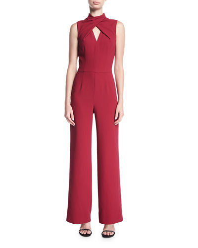 Contessa Sleeveless Straight-Leg Jumpsuit