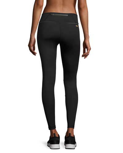 Blocked Ankle Running Tights/Leggings