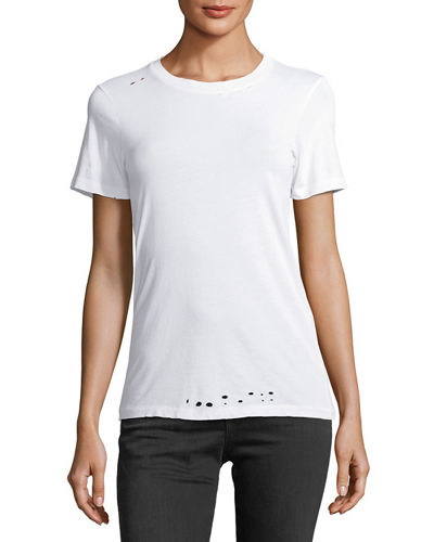 Boy Crewneck Short-Sleeve Cotton Tee