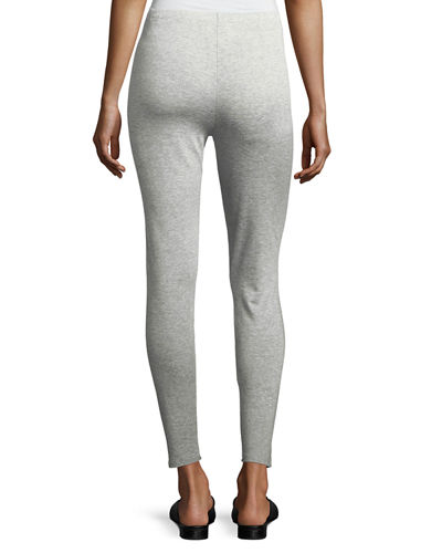 Stretch Terry Ankle Leggings