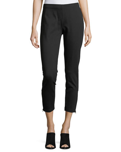 Heavyweight Slim Ankle Pants