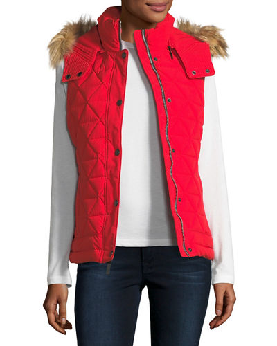 Thea Quilted Stretch Vest