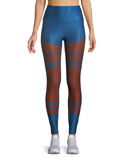 High-Waist Tech-Lift Airbrush Full-Length Leggings