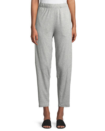 Terry Slouchy-Stretch Tapered Pants