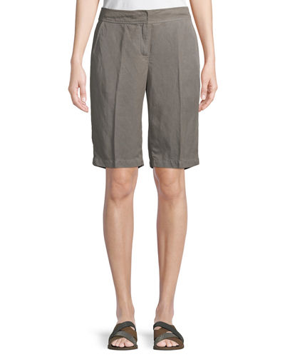 Tencel® Linen Walking Shorts