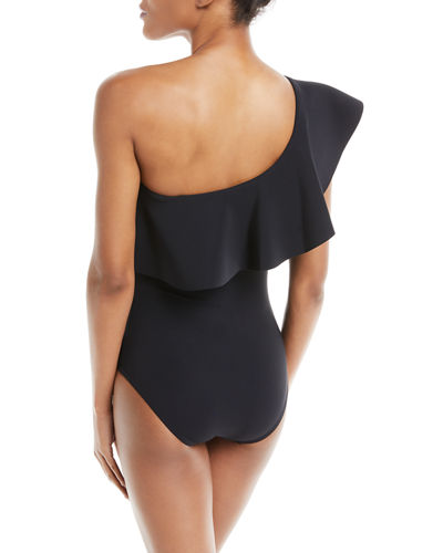 Zaha One-Shoulder One-Piece Swimsuit